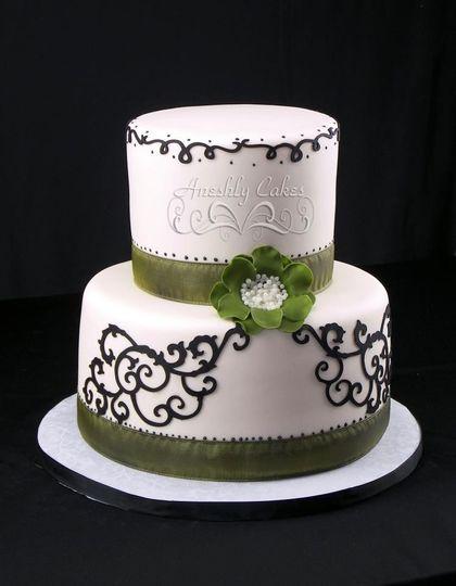 Aneshly Cakes Wedding Cake Fayetteville Nc Weddingwire