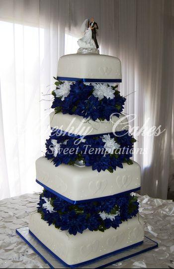 aneshly cakes wedding cake fayetteville nc weddingwire. Black Bedroom Furniture Sets. Home Design Ideas