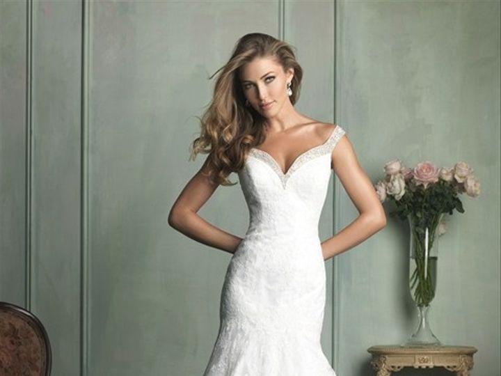 Tmx 1395693635120 Allure Trunk Sho Geneseo wedding dress