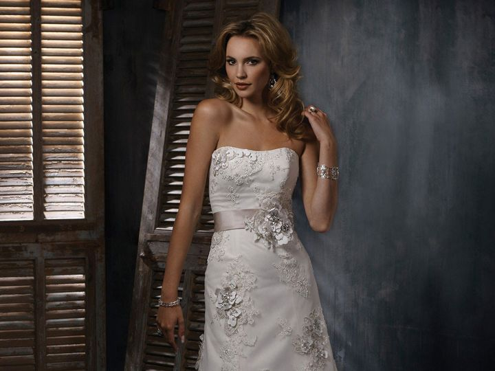 Tmx 1395693766840 Ms Genev Geneseo wedding dress