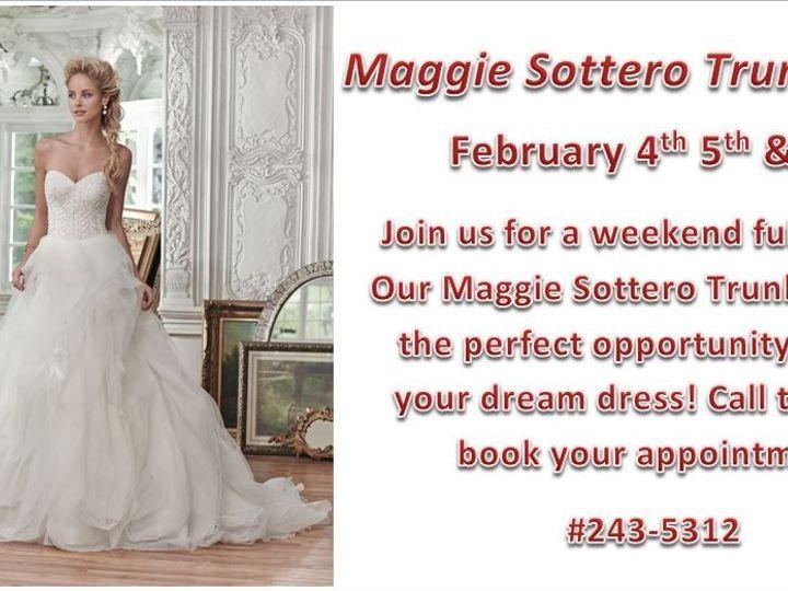 Tmx 1453825427314 Feb Trunk Show Promo   Maggie Sottero Geneseo wedding dress