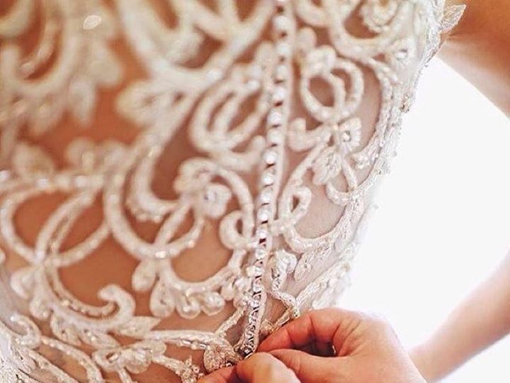Tmx 1453826797042 Back Of Phyllis Geneseo wedding dress