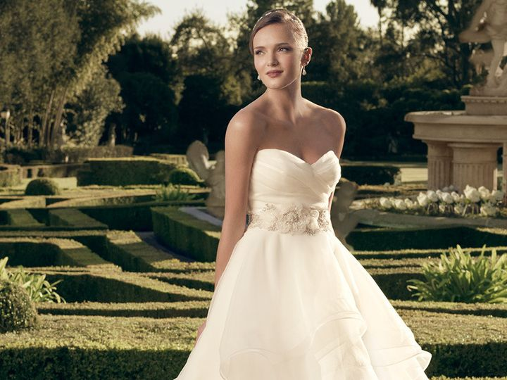 Tmx 1453826838750 Casablanca Bridal 2174 Geneseo wedding dress