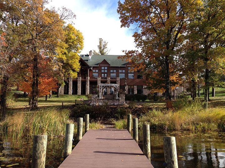 Eagle Lodge in autumn