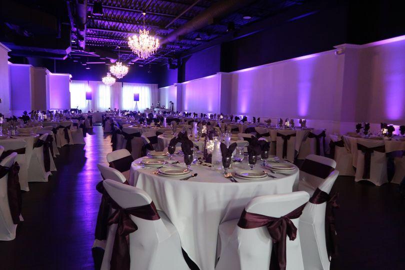Full venue up-lighting