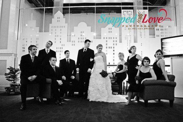 Red Oak ballroom- Wedding Reception