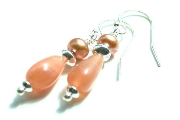 Peach Fantasy Earrings