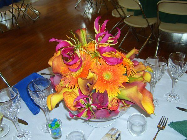 "Table theme ""Fire"", Village Hall, Framingham, MA"