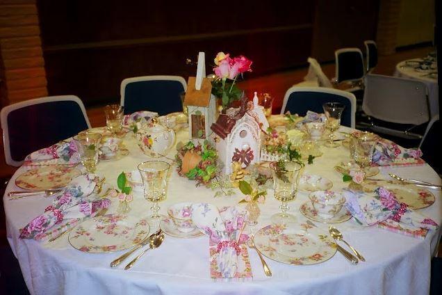 Sample table setting