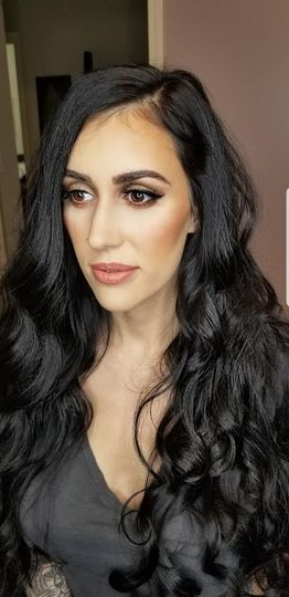 Classic makeup