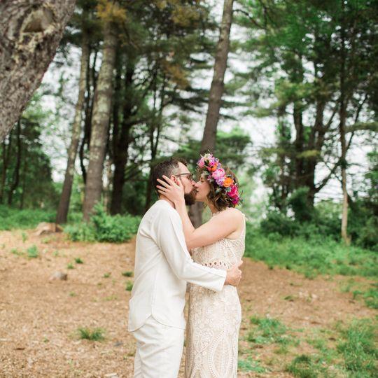 Bohemian Catskills wedding