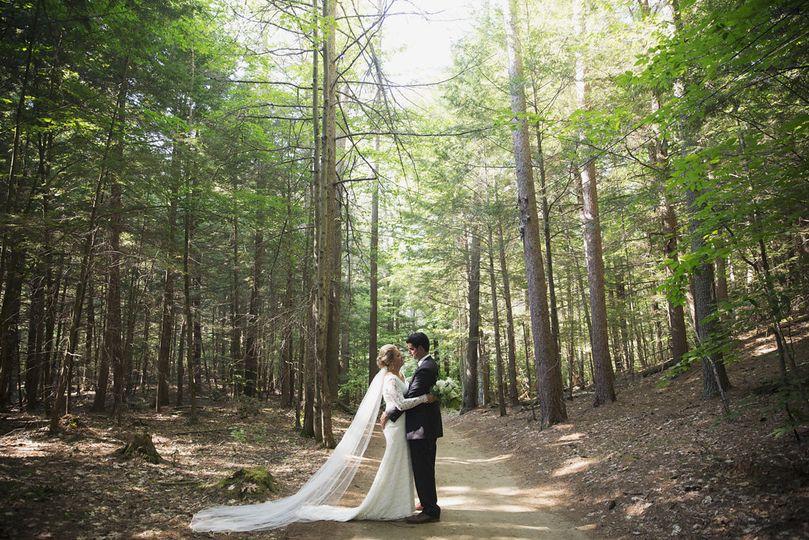 Adirondack camp wedding
