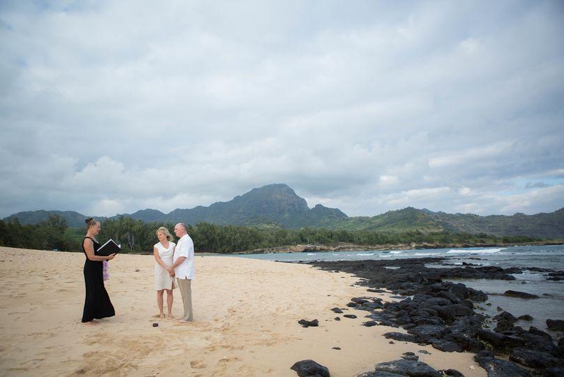 mahaulepu lori larry kauai wedding 1 x3