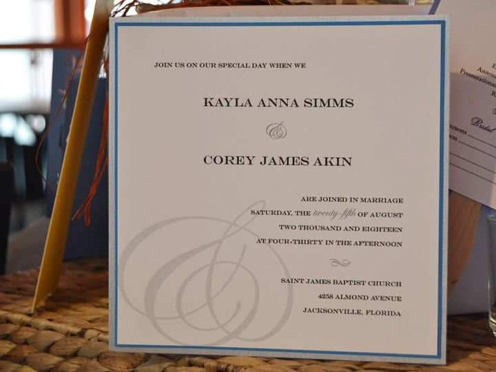 Tmx 1404318448813 Kayla  Corey Invite Quakertown, PA wedding invitation
