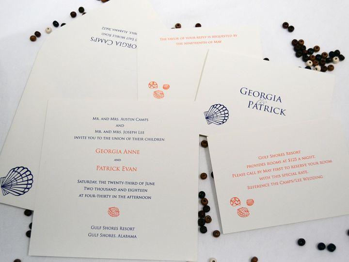 Tmx 1404318519174 Georgia  Patrick Set Allentown, PA wedding invitation