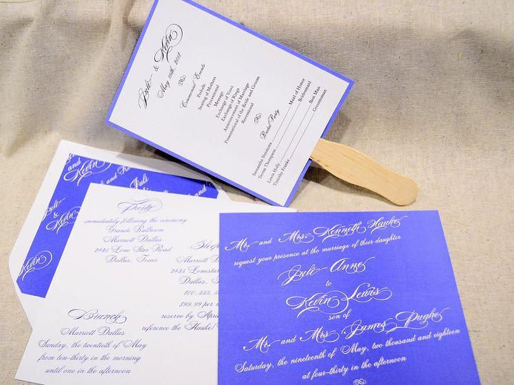 Tmx 1404318526763 Juli  Kevin Set Quakertown, PA wedding invitation