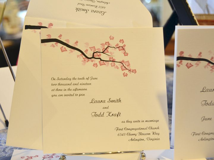 Tmx 1404318540031 Laura  Tood Invite Quakertown, PA wedding invitation