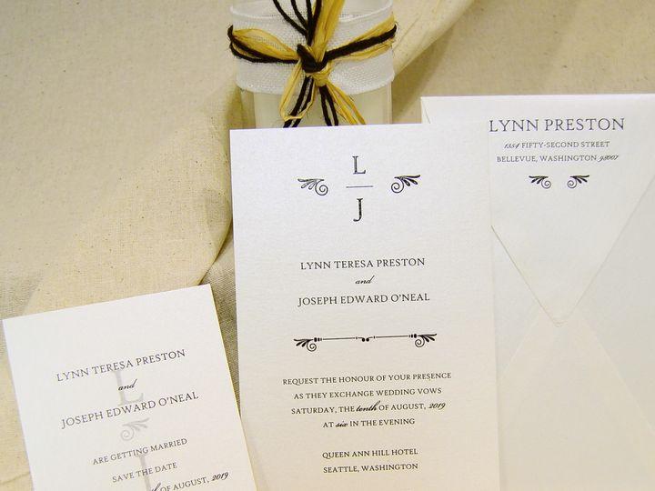 Tmx 1404318567089 Lynn  Joseph Set Allentown, PA wedding invitation