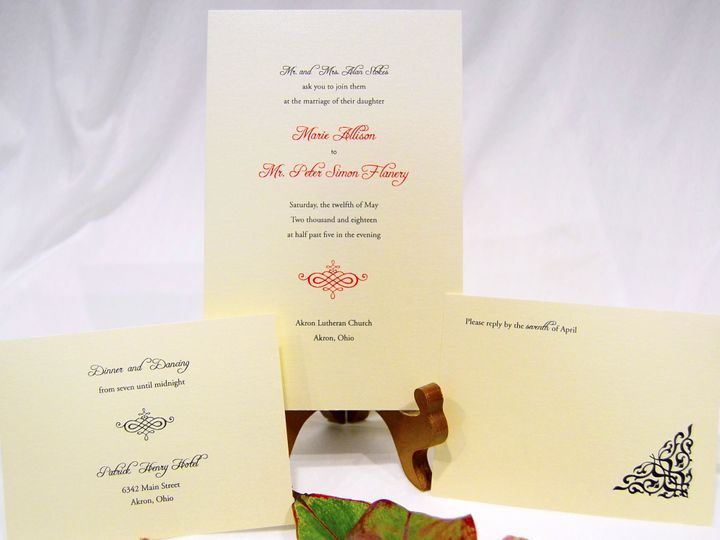 Tmx 1404318578862 Marie  Peter Set Quakertown, PA wedding invitation
