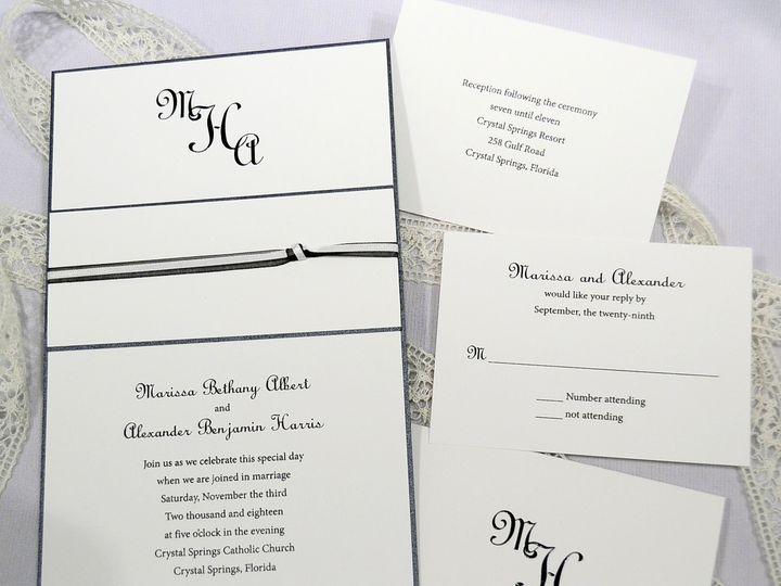 Tmx 1404318592207 Marissa  Alexander Set Allentown, PA wedding invitation