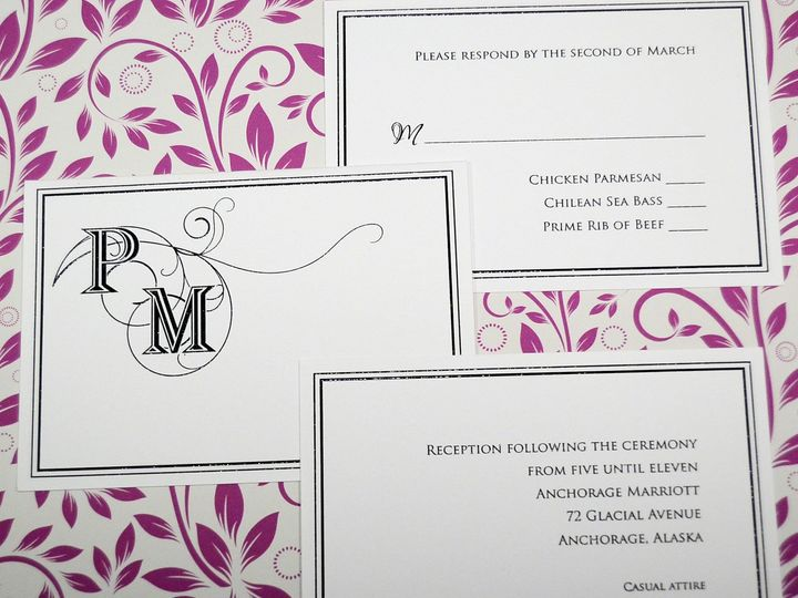 Tmx 1404318625408 Paula  Marc Accessories Quakertown, PA wedding invitation