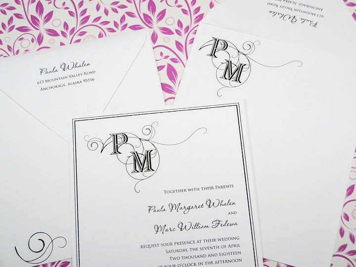 Tmx 1404318640469 Paula  Marc Invite Quakertown, PA wedding invitation