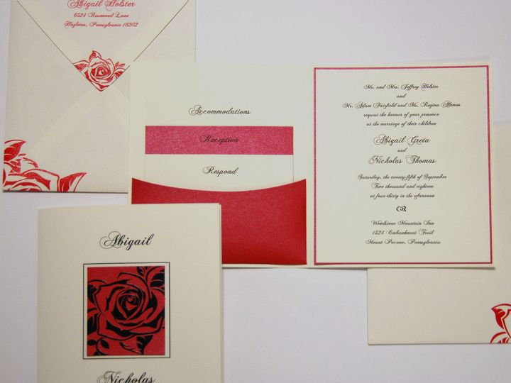 Tmx 1404318764522 Abigailnicholas2 Quakertown, PA wedding invitation