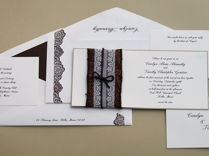 Tmx 1404318801254 Carolyntimothy3 Quakertown, PA wedding invitation