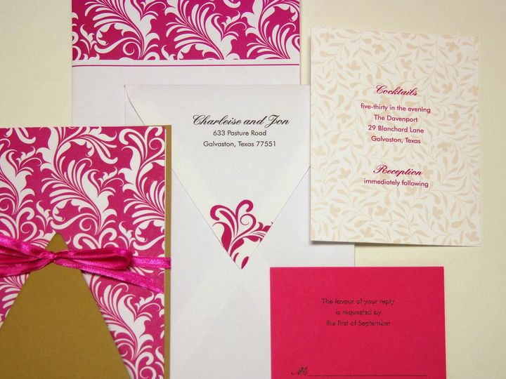 Tmx 1404318815323 Charliesejon3 Quakertown, PA wedding invitation