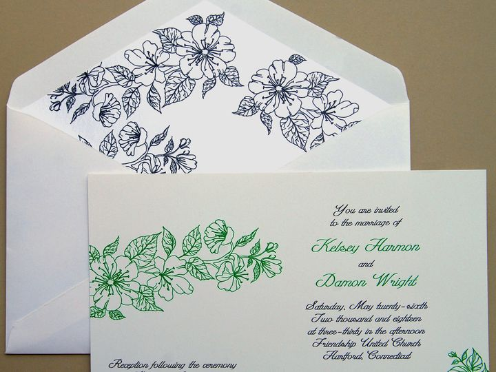 Tmx 1404318838344 Kelseydamon1 Quakertown, PA wedding invitation