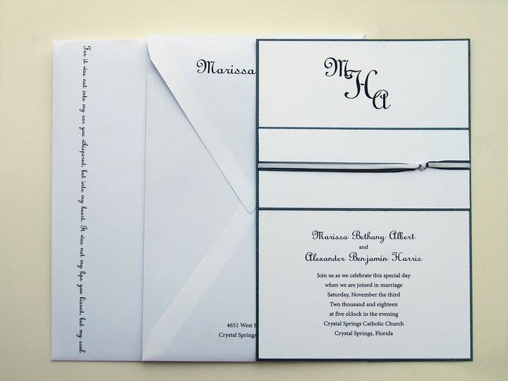 Tmx 1404318887894 Marissaalexander1 Quakertown, PA wedding invitation