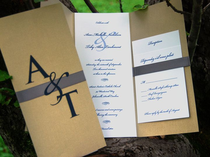 Tmx 1404319098712 Anntoby1 Quakertown, PA wedding invitation