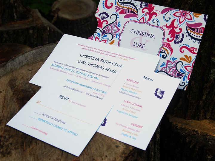 Tmx 1404319122346 Christina And Luke1 Allentown, PA wedding invitation