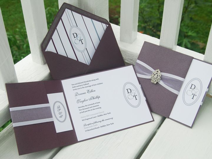 Tmx 1404319137513 Donnataylor Quakertown, PA wedding invitation