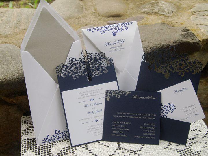 Tmx 1404319248258 Pheobe And Wesley Allentown, PA wedding invitation