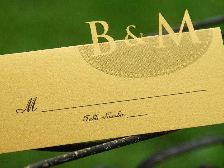 Tmx 1404319479893 Bm Tablecard Allentown, PA wedding invitation
