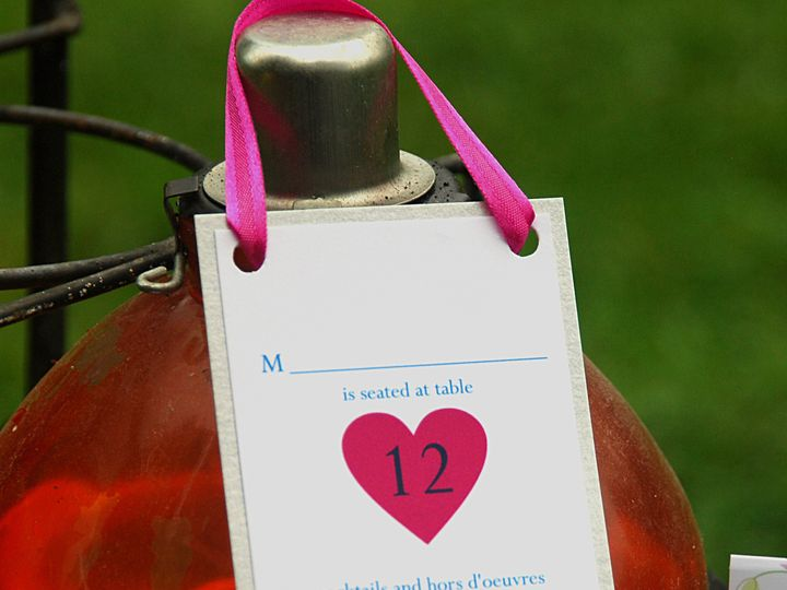 Tmx 1404319516419 Heart Tablecard Allentown, PA wedding invitation
