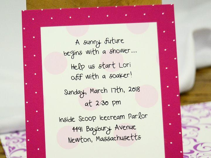 Tmx 1404319566164 Lori Polka Dot Shower Allentown, PA wedding invitation