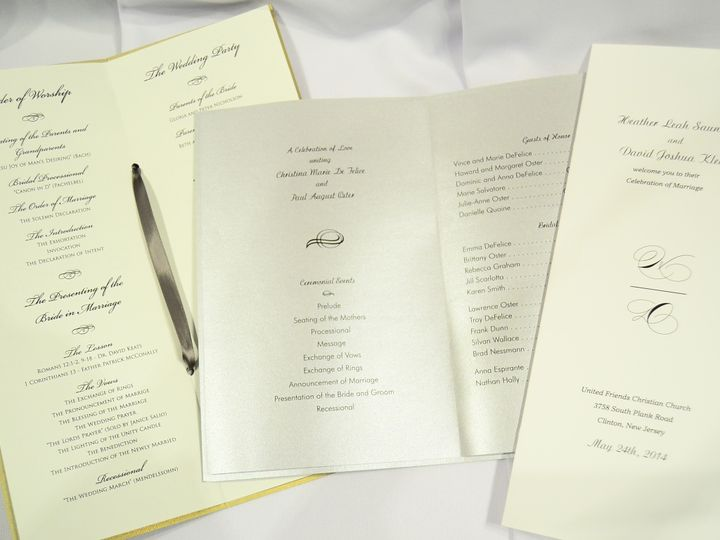 Tmx 1404319572316 Programs Quakertown, PA wedding invitation