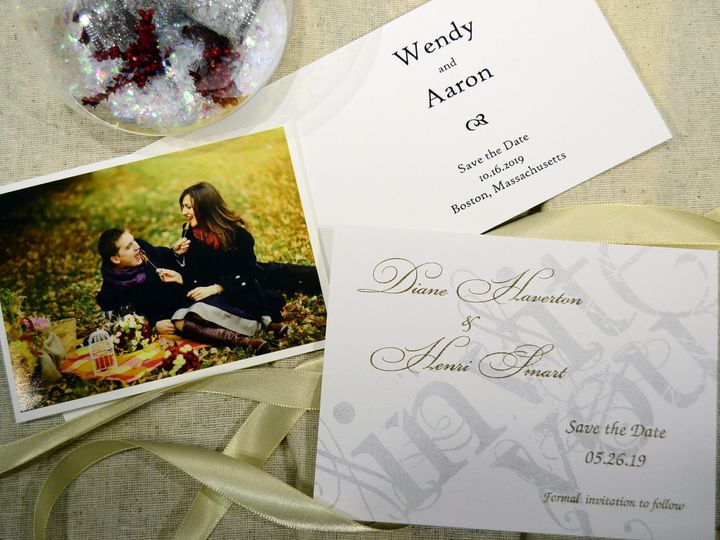 Tmx 1404319605150 Save The Date For Fall Allentown, PA wedding invitation