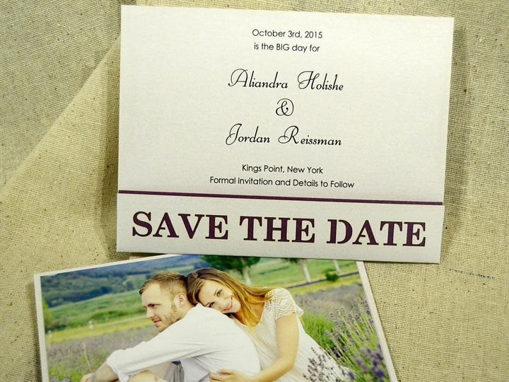 Tmx 1404319622145 Save The Date Pocket Quakertown, PA wedding invitation