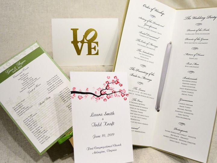Tmx 1404319743652 Last Minute Program   Tnote Allentown, PA wedding invitation