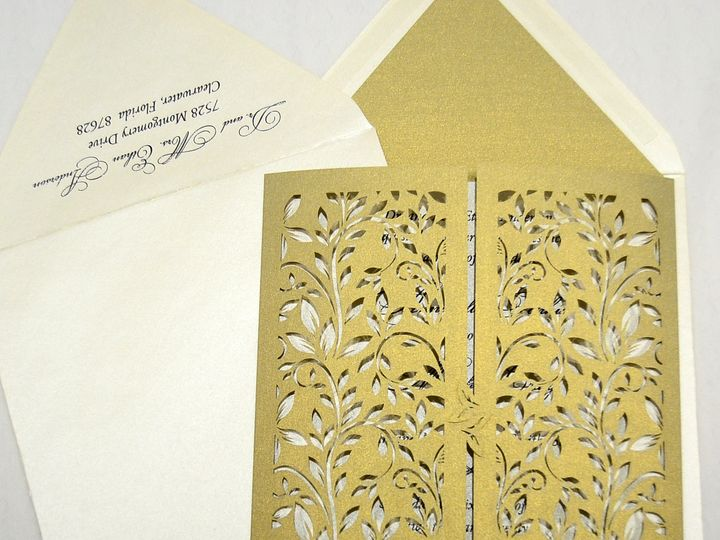 Tmx 1446045536995 Annabell  Matthew   Invitation Closed Quakertown, PA wedding invitation