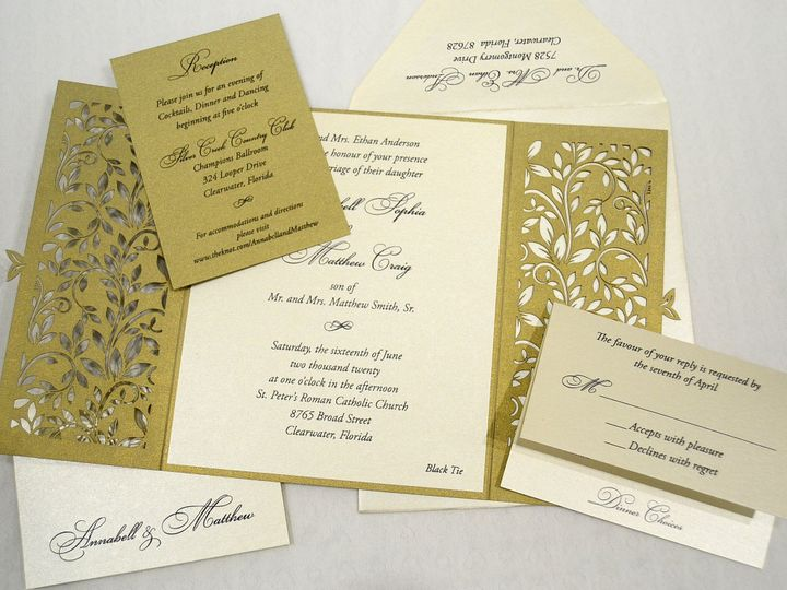 Tmx 1446045564629 Annabell  Matthew   Set Allentown, PA wedding invitation