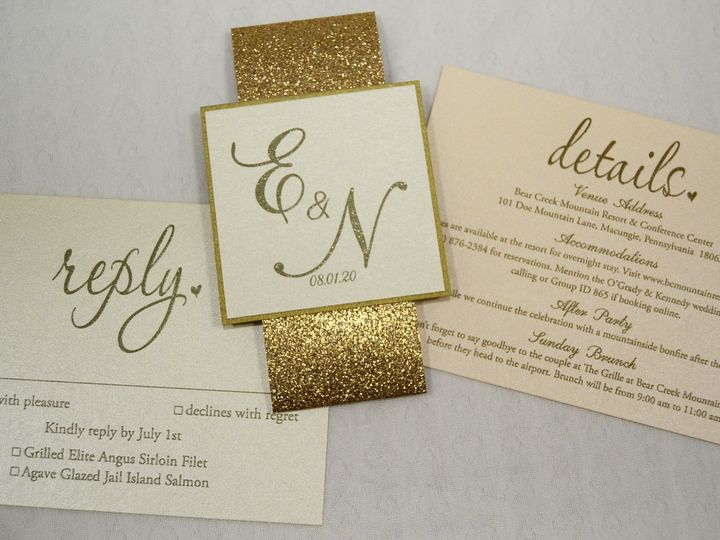 Tmx 1446045577906 Evelyn  Nash   Accessories Quakertown, PA wedding invitation