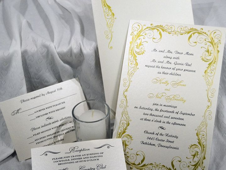 Tmx 1446045690584 Kelly  Neil 2 Quakertown, PA wedding invitation