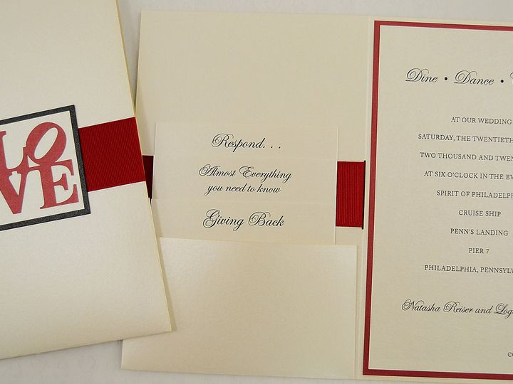 Tmx 1446045740010 Natasha  Logan   Cover Spread   A Allentown, PA wedding invitation