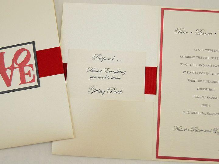 Tmx 1446045751117 Natasha  Logan   Cover Spread Allentown, PA wedding invitation