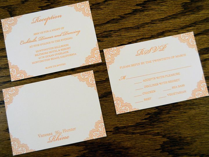 Tmx 1446045795517 Vanessa  Hunter   Accessories Quakertown, PA wedding invitation