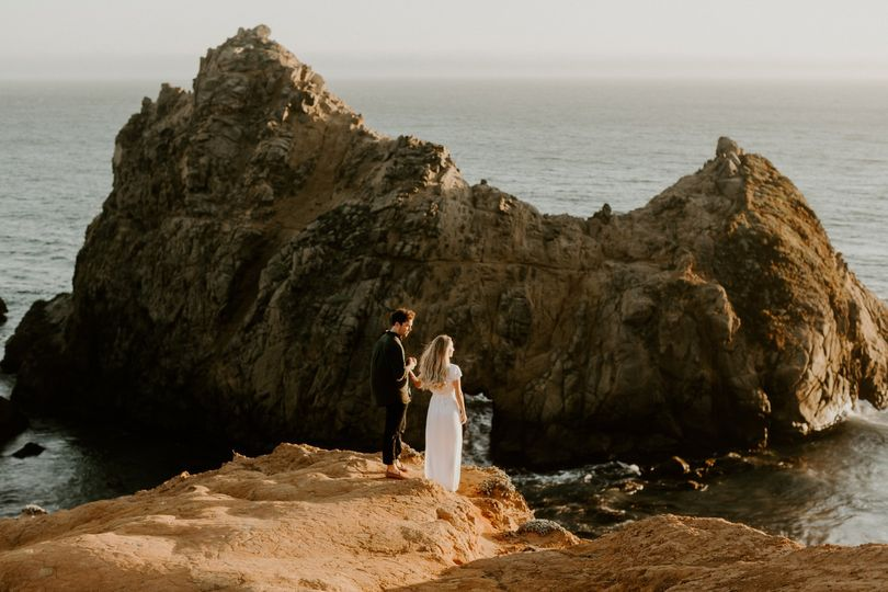 Pfeiffer Beach Engagement
